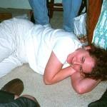 Erica tries to sleep