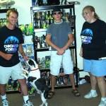 Scott (General Kenobi), Charlie, Kevin (Sithman) & Carrie (JediAutobot)
