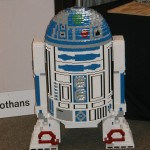 Full-sized LEGO R2-D2