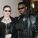 Matrix Trinity and Blade.