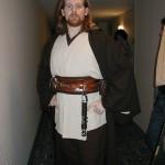 A Jedi pays us a visit.