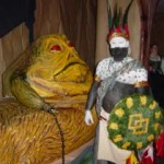 It was the kind of party where Jabba looked normal.