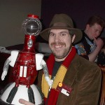 Tom Servo is here.  NOW it's a party.