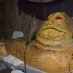 Jabba looks like he's having a good time, doesn't he?