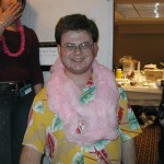 Matt gets a sweet lei