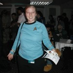 The only Starfleet uniform I saw the entire weekend.  Seriously.
