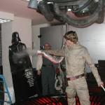 Vader gets steamed