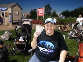 Carrie won tickets from the contest.