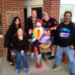 Chicago Force and Ronald McDonald