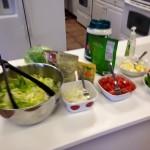 Salad, check