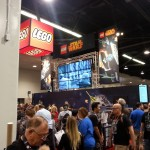 One of the Lego Booths