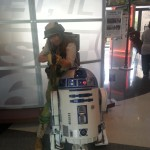Artoo and his bodyguard