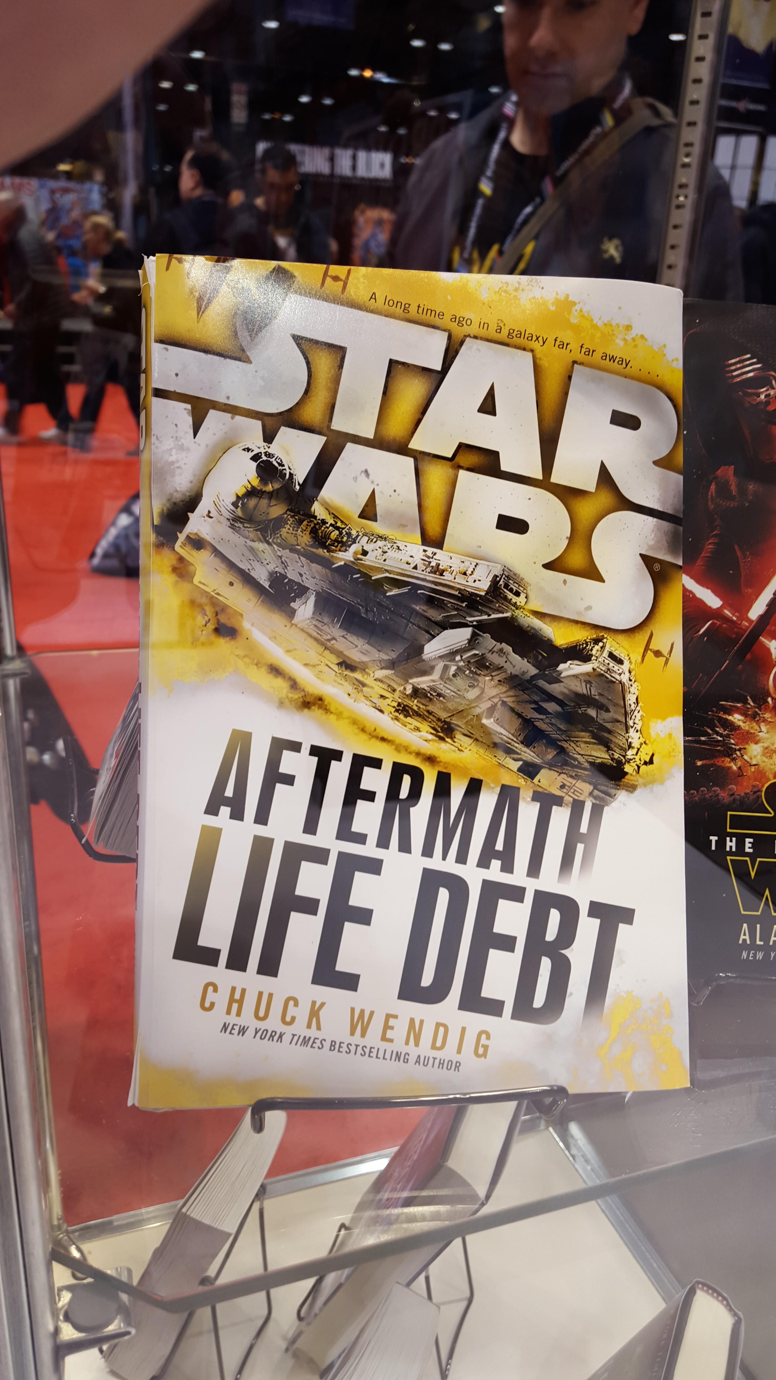 Wendig, Book, Life Debt