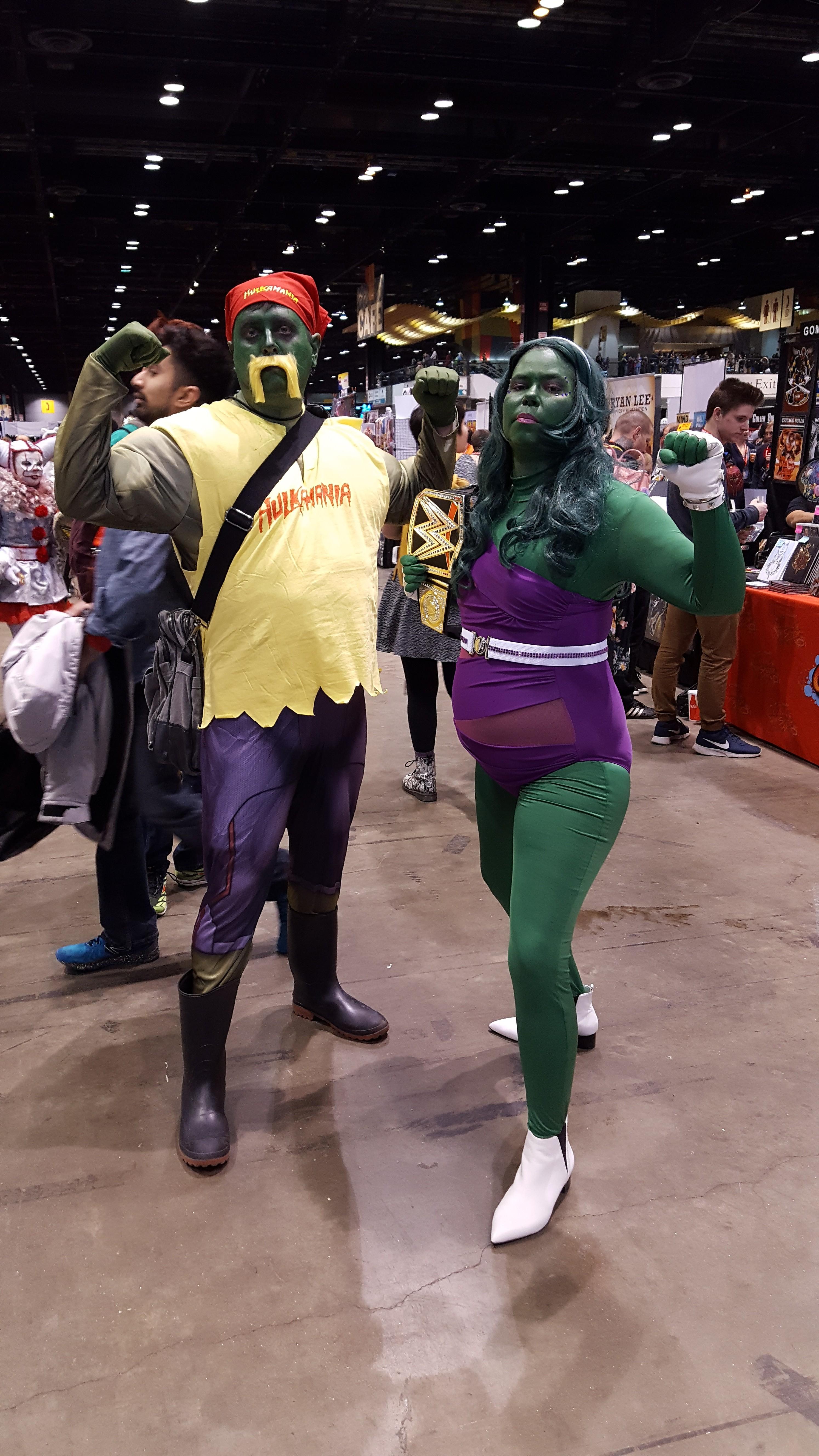 Hulk, She-Hulk