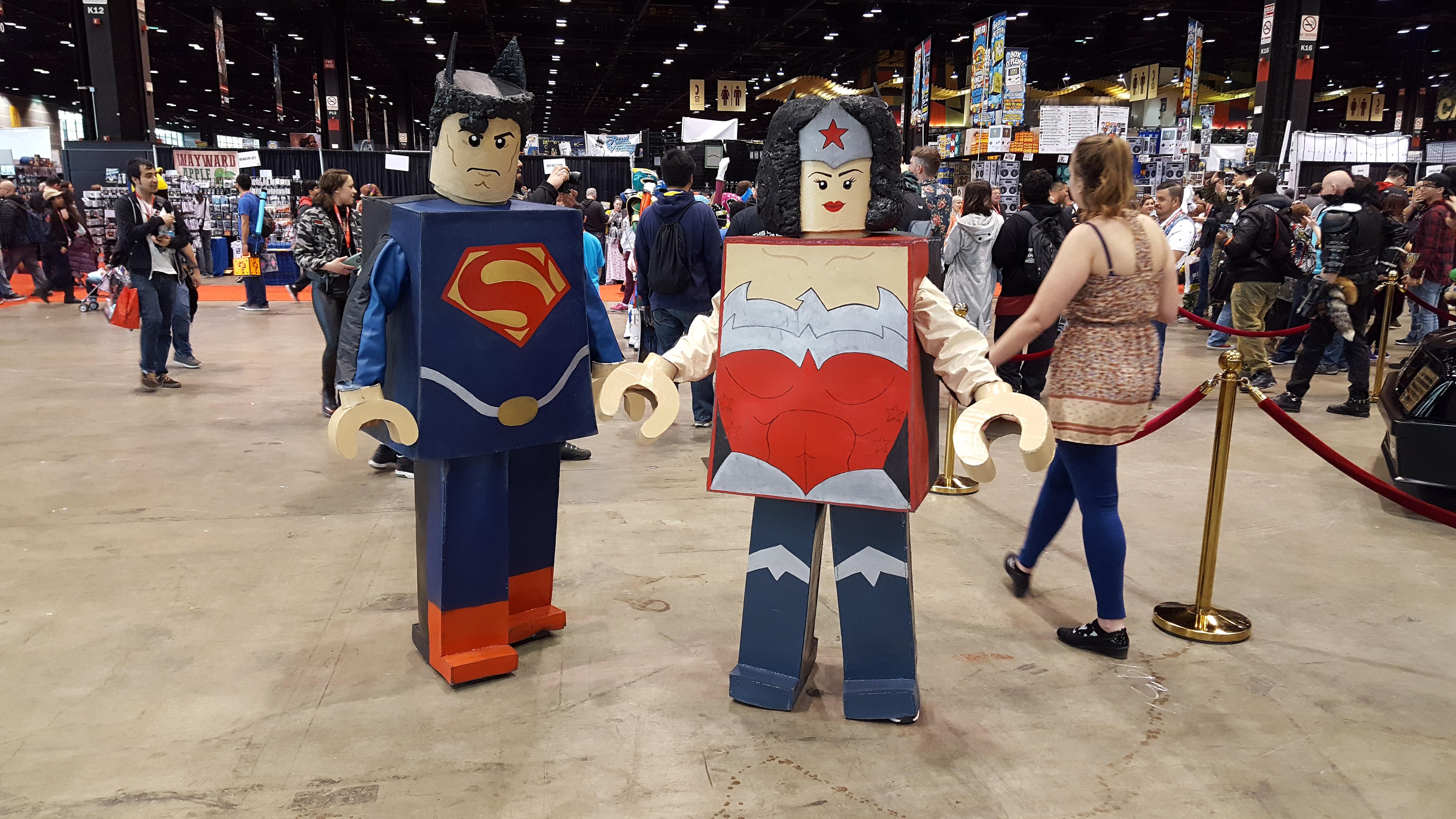Superman, WonderWomen
