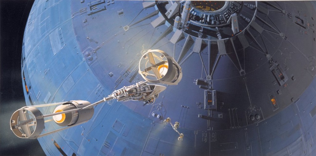 McQuarrie, Y-Wing, Death Star